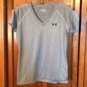 Gray Under Armour T-shirt